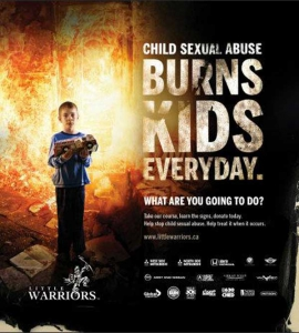 """2012 Little Warriors """"What Are You Going To Do?"""" Awareness Campaign"""
