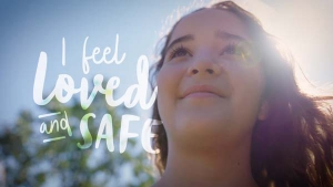 """Little Warriors """"I feel loved and safe"""" campaign"""