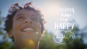 """Little Warriors """"I learned how to be happy again"""" campaign"""